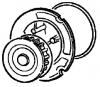 Насос водяной (помпа водяная) в сборе GM 6334039 1334078 93182042 24415735 9199595 для моторов X16SZR Z16SE OPEL Astra-G Zafira-A Corsa-C Meriva-A