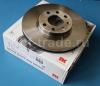 Диск тормозной (4 болта крепления колеса) передний вентилируемый (1 шт) 256 х 24 mm NK 0569059 9117677 90497879 OPEL Astra-G Примечание: продаются и меняются только парами